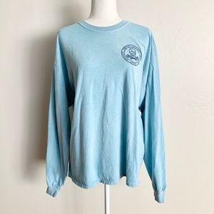 ❤Blue 84 Premiun Lacrosse Apparel Light Blue Shirt
